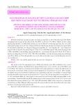 Giải pháp bảo vệ nguồn lợi thủy sản bằng chà kết hợp rạn nhân tạo tại huyện Núi Thành, tỉnh Quảng Nam