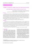 Nghiên cứu ban đầu về khả năng tái sử dụng hạt NIX thải