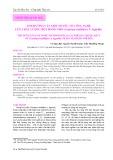 Ảnh hưởng của một số yếu tố công nghệ lên chất lượng bột rong nho (Caulerpa Lentillifera J. Agardh)