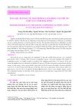 Dẫn liệu ban đầu về thành phần loài động vật phù du ở Hồ Tây, tỉnh Đăk Nông
