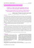 Nghiên cứu một số đặc điểm sinh học sinh sản của ốc đĩa (Nerita balteata Reeve, 1885) ở Quảng Ninh