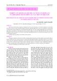 Nghiên cứu đánh giá chỉ tiêu an toàn của động cơ tua bin khí sử dụng trên các tàu thủy ở Việt Nam