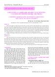 Chất lượng của khóa học đại học và sự hài lòng của sinh viên Trường Đại học Nha Trang