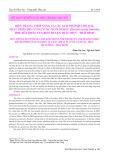 Hiện trạng, tiềm năng và các giải pháp quy hoạch, phát triển bền vững vùng nuôi nghêu (Meretrix lyrata Sowerby,1851) bãi triều ven biển huyện Thái Thụy- Thái Bình