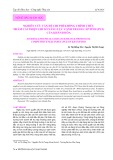 Nghiên cứu vấn đề chi phí không chính thức nhằm cải thiện chỉ số năng lực cạnh tranh cấp tỉnh (PCI) của Khánh Hòa