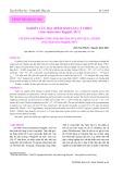 Nghiên cứu đặc điểm sinh sản cá thiều (Arius thalassinus Ruppell, 1837)