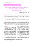 Phân tích các nhân tố tác động lên cấu trúc vốn của doanh nghiệp ngành dệt may