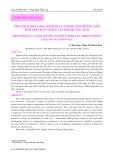 Phân tích khả năng sinh lợi của nghề nuôi thâm canh tôm thẻ chân trắng tại tỉnh Quảng Ngãi