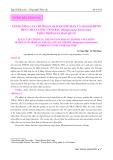Ảnh hưởng của chitosan, oligochitosan và oligochitin đến chất lượng tôm bạc (Metapenaeus brevicornis) theo thời gian bảo quản