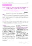 Kết quả nghiên cứu thực trạng nghề khai thác thủy sản ven bờ huyện Núi Thành, tỉnh Quảng Nam