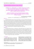 Nghiên cứu ảnh hưởng của hàm lượng đậu tương lên chất lượng giống của cá lăng chấm (Hermibagrus guttatus Lacépède, 1803) giai đoạn cá hương lên cá giống (30 ngày - 60 ngày)