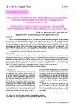 Tối ưu hóa công đoạn chiết polyphenol, chlorophyll với hoạt tính chống oxy hóa từ cây măng tây (Asparagus officinalis Linn)