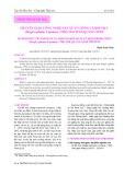 Chuyển giao công nghệ sản xuất giống cá đối mục (Mugil Cephalus Linnaeus, 1758) cho tỉnh Quảng Ninh