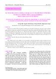 Sự thay đổi chất lượng cảm quan và thành phần sinh hóa cơ bản của rong nho (Caulerpa lentillifera) theo thời gian nuôi trồng
