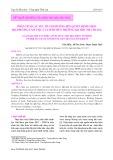Phân tích các yếu tố ảnh hưởng đến quyết định chọn địa phương làm việc của sinh viên Trường Đại học Nha Trang