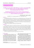 Nghiên cứu ứng dụng hỗn hợp alcalase và flavourzyme để thủy phân cá nục gai(Decapterus Russelli) thu hồi dịch đạm thủy phân