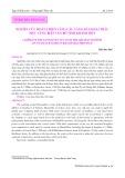 Nghiên cứu hoàn thiện vàng câu tầng đáy khai thác mực vùng biển ven bờ tỉnh Khánh Hòa