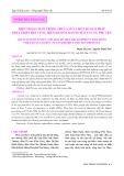 Hiện trạng nuôi trồng thủy sản và một số giải pháp phát triển bền vững trên đầm Ô Loan huyện Tuy An, Phú Yên