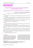 Kết quả nghiên cứu về thực trạng nghề khai thác cá biển tỉnh Quảng Nam