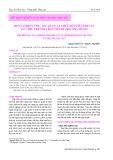 Hoàn thiện công tác quản lý thuế đối với lĩnh vực lưu trú trên địa bàn thành phố Nha Trang