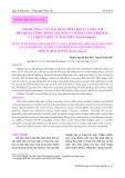 Ảnh hưởng của loại dung môi chiết và siêu âm đến hoạt tính chống oxy hóa và hàm lượng protein của dịch chiết từ hải miên (Ircinia mutans)