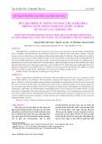 Mức độ nhiễm ấu trùng sán song chủ (Cercaria) trên ốc nước ngọt tại hai xã An Mỹ, An Hòa, huyện Tuy An, tỉnh Phú Yên