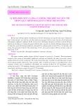 Sự biến đổi chất lượng của rong nho khô nguyên thể trong quá trình bảo quản ở nhiệt độ thường
