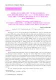 Đánh giá khả năng tổn thương sinh kế của cộng đồng khai thác thủy sản – trường hợp hai thôn Ngọc Diêm và Tân Đảo, xã Ninh Ích, thị xã Ninh Hòa, tỉnh Khánh Hòa