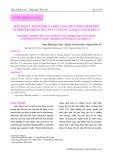 Điều kiện ủ thích hợp và khả năng thủy phân tinh bột và protein trong bã sắn của chủng Bacillus subtilis C7
