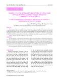 Nghiên cứu ảnh hưởng của một số yếu tố công nghệ đến chất lượng của trà túi lọc măng tây  (Asparagus Officinalis L.