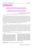 Xây dựng khung phân tích cầu tiêu dùng: Tổng quan lý thuyết và mô hình nghiên cứu