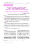 Ảnh hưởng của vibrio và vibrio mang phage lên hậu ấu trùng (postlarvae) tôm sú và tôm thẻ chân trắng trong điều kiện thí nghiệm