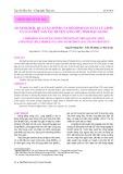 So sánh hiệu quả tài chính của mô hình sản xuất lúa đơn và lúa – thủy sản tại huyện Long Mỹ, tỉnh Hậu Giang