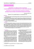 Ảnh hưởng của chế độ sấy đối lưu kết hợp với bơm nhiệt đến năng lượng tiêu hao và chất lượng mực khô