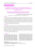 Ảnh hưởng của hàm lượng Carotenprotein bổ sung vào thức ăn lên sinh trưởng và màu sắc của cá tứ vân (Capoeta Tetrazona)