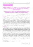 Kết quả nghiên cứu về cường lực và sản lượng khai thác hợp lý nguồn lợi thuỷ sản vùng biển vịnh Vân Phong, tỉnh Khánh Hoà