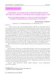 Ảnh hưởng của chế độ cho ăn đến hoạt động enzym tiêu hóa ở ấu trùng cá giò  (Rachycentron canadum Linnaeus, 1766)