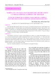 Nghiên cứu ứng dụng enzyme protamex để thủy phân cá trích (Sardinella gibbosa) thu dịch đạm