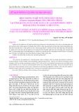 Hiện trạng nghề nuôi tôm chân trắng (Penaeus vannamei Boone, 1931) thương phẩm tại tỉnh Quảng Ngãi và đề xuất các giải pháp phát triển theo hướng ổn định và bền vững