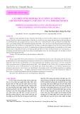 Cải thiện tính minh bạch và tiếp cận thông tin cho doanh nghiệp và nhà đầu tư của tỉnh Khánh Hòa
