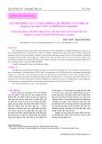 Xác định độc lực và quá trình cảm nhiễm của vi khuẩn streptococcus iniae vào cá chẽm (lates calcarifer)