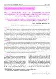 Tiếp cận chuỗi giá trị nhằm nâng cao lợi thế cạnh tranh cho sản phẩm thủy sản khai thác - Trường hợp mặt hàng cá Ngừ sọc dưa tại Khánh Hòa