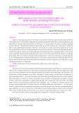 Hiện trạng cung ứng và sử dụng thức ăn nuôi tôm He tại tỉnh Quảng Nam