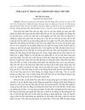 Tính lịch sử trong quá trình tiếp nhận thơ mới