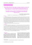 Đo lường năng lực dư thừa và việc sử dụng các yếu tố đầu vào của tàu lưới kéo qui mô nhỏ ở hai khu vực Vĩnh Trường và Vĩnh Lương, thành phố Nha Trang
