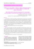 Nghiên cứu tách chiết và khảo sát hoạt tính kháng khuẩn – chống oxi hoá của cao dịch chiết từ củ hành tăm (Allium schoenoprasum)