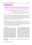 Ảnh hưởng của tỉ lệ pha loãng, pH và nồng độ thẩm thấu lên hoạt lực tinh trùng cá dìa  (Siganus guttatus Bloch, 1787)