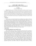 Giọng điệu nghệ thuật trong nho lâm ngoại sử của Ngô Kính Tử