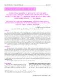 Ảnh hưởng của thức ăn rong câu chỉ vàng khô (Gracilaria asiatica) lên quá trình tăng trưởng, tỷ lệ sống và chất lượng thịt của bào ngư (Haliotis diversicolor Reeve, 1846) nuôi tại Bạch Long Vỹ - Hải Phòng