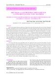 Hiện trạng và giải pháp phát triển nghề nuôi cá lồng biển tại vịnh Cát Bà – Hải Phòng